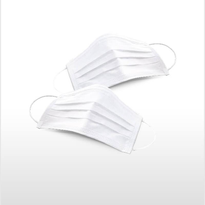 Máscara Descartável com Elástico Talge - 100 unid