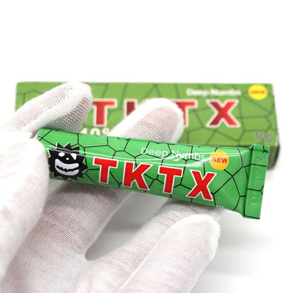 Pomada Anestésica para Tatuagem Tktx Green 10g