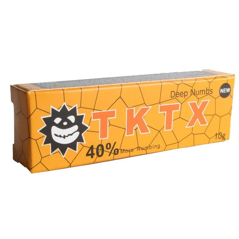 Pomada Anestésica Tktx Amarelo 10g