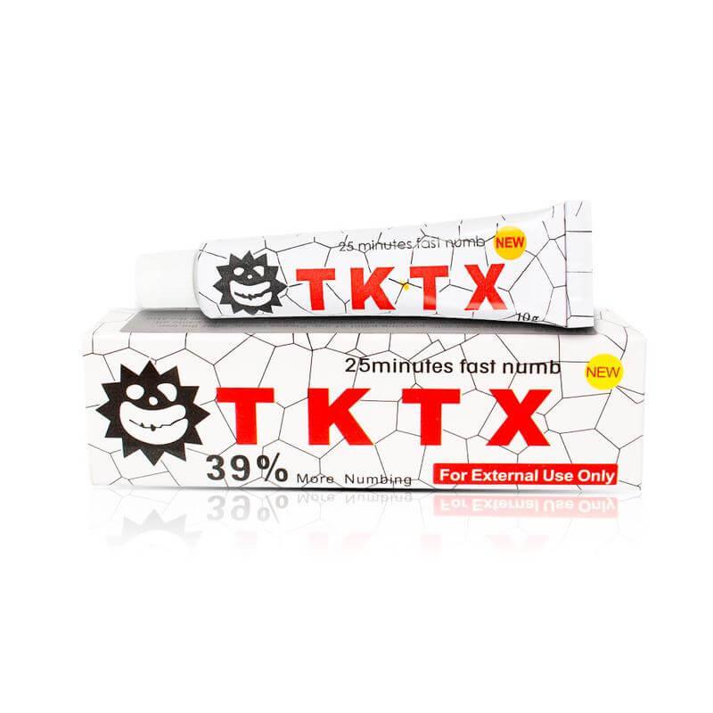 Pomada Anestésica Tktx White 10g
