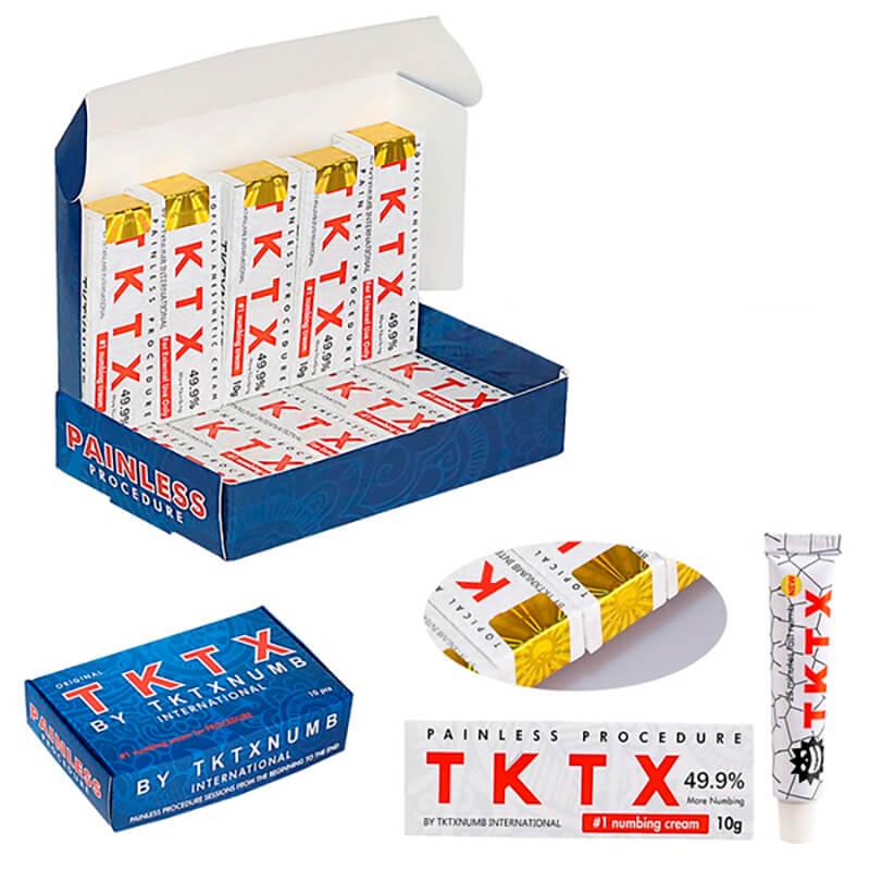 Pomada Anestésica Tktx White 10g 49%