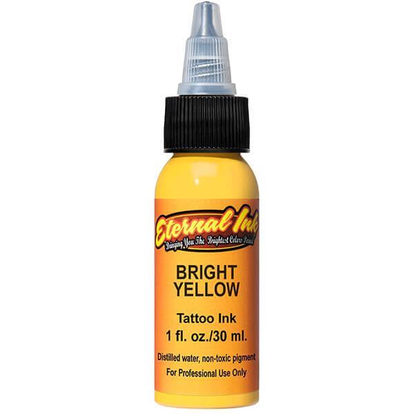 Tinta de Tattoo Eternal Ink Bright Yellow 30ML