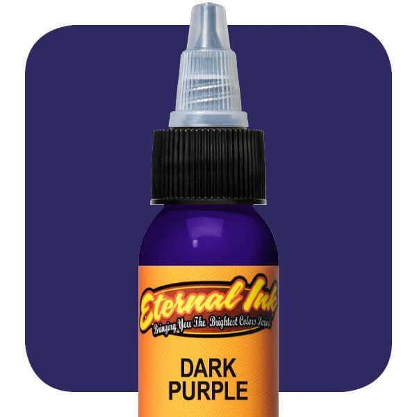 Tinta de Tattoo Eternal Ink Dark Purple 30ML