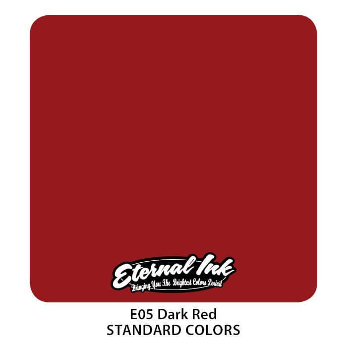 Tinta de Tattoo Eternal Ink Dark Red 30ML