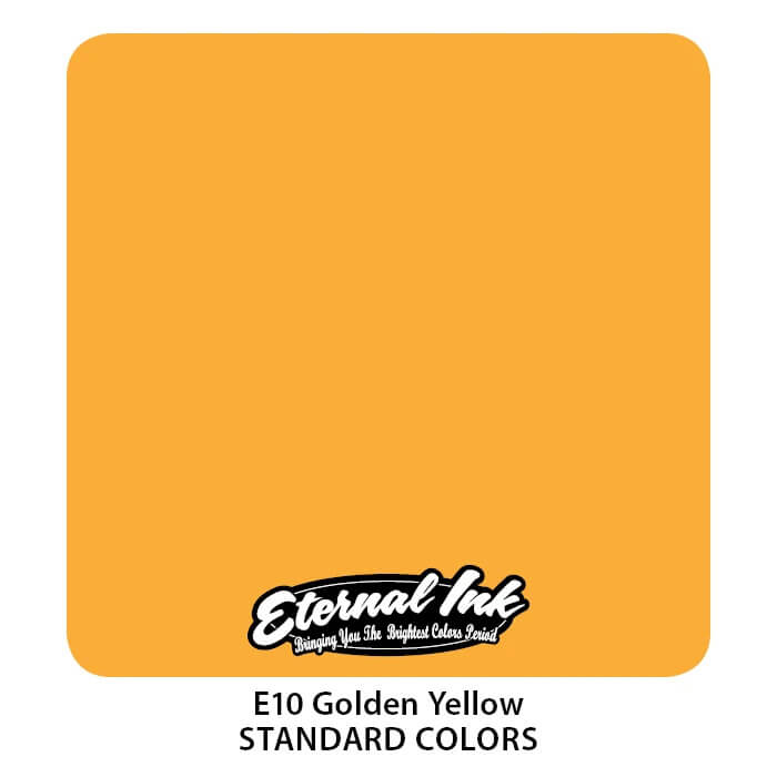 Tinta de Tattoo Eternal Ink Golden Yellow 30ML
