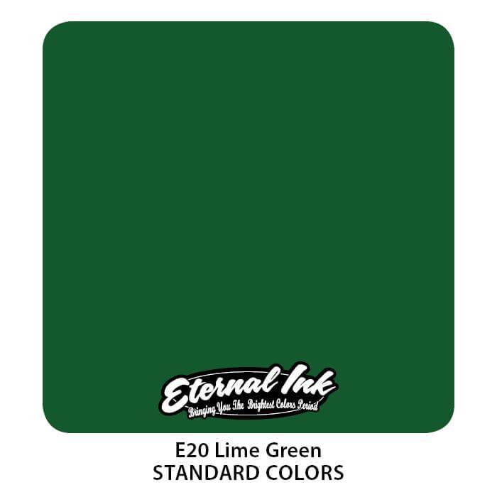 Tinta de Tattoo Eternal Ink Lime Green 30ML