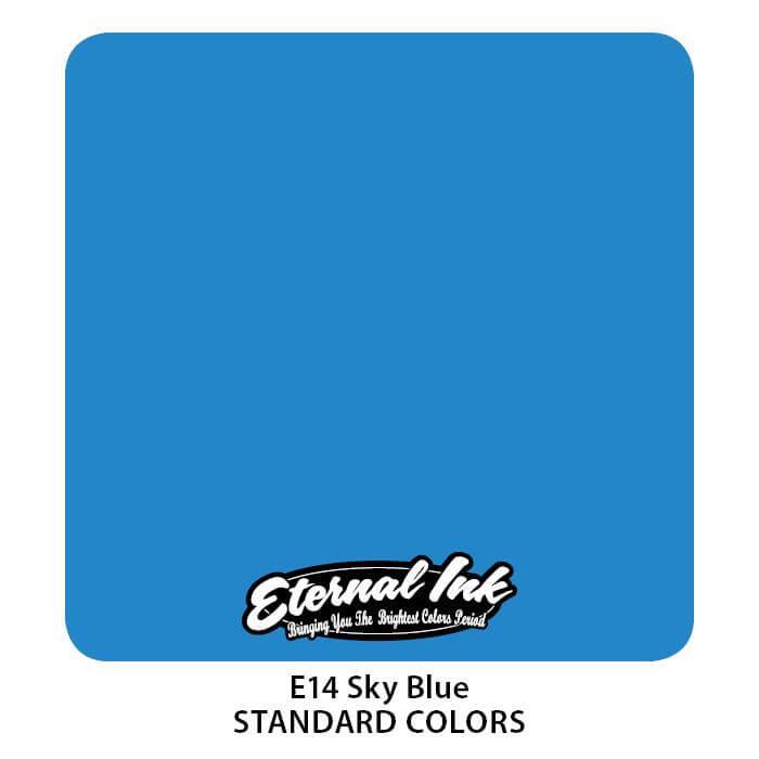 Tinta de Tattoo Eternal Ink Sky Blue 30ML