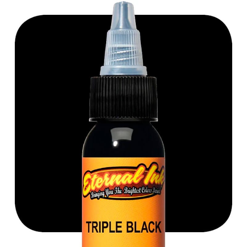 Tinta de Tattoo Eternal Ink Triple Black 30ML