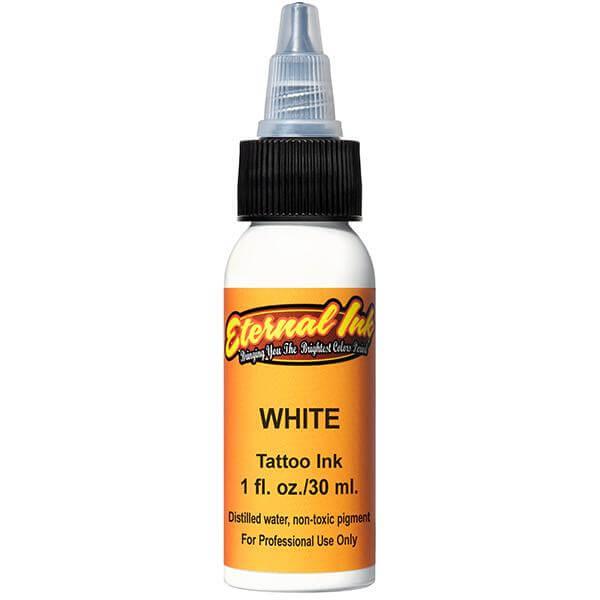 Tinta de Tattoo Eternal Ink White 30ML