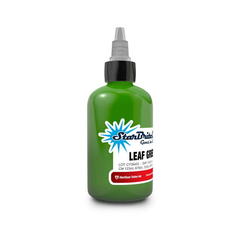Tinta para Tattoo StarBrite Colors Leaf Green 30ml