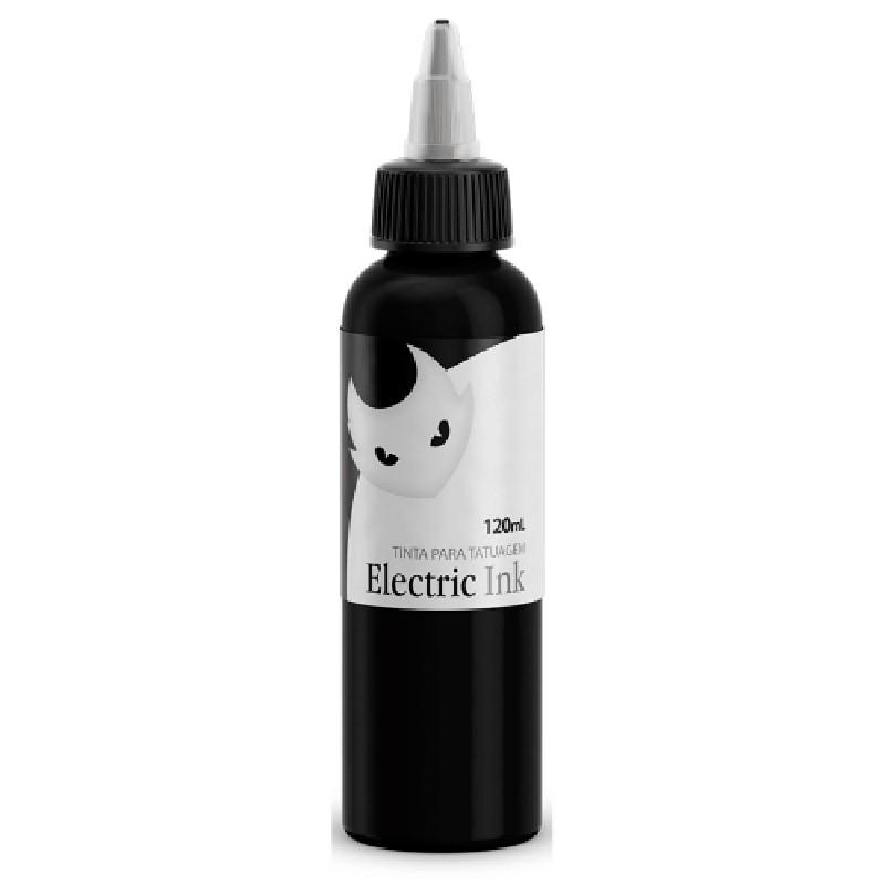 Tinta para Tatuagem Cor Preto Linha Electric Ink 30ml