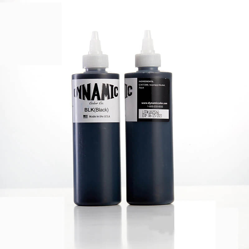 Tinta para Tatuagem Dynamic BLK 240 ML