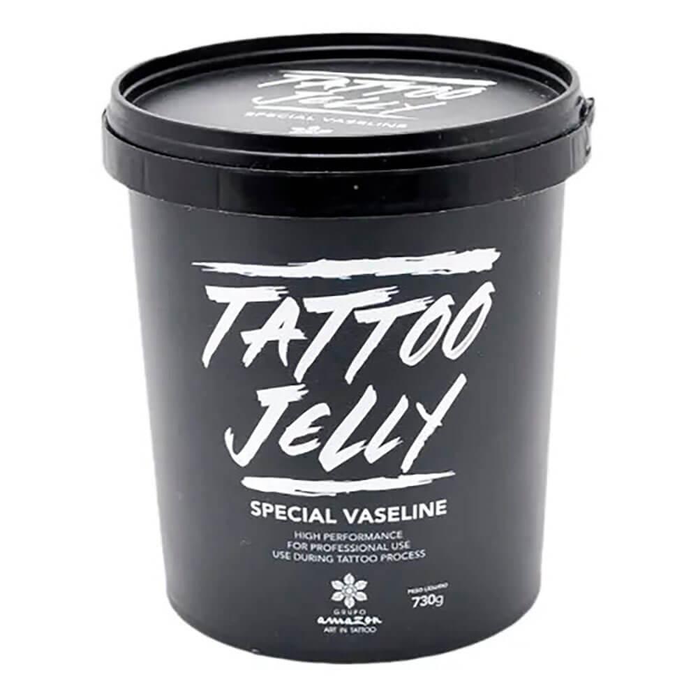 Vaselina para Tatuagem Especial Tattoo Jelly 730g