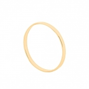 Aliança de Casamento Ouro 10k Tradicional Fina 1,5 mm