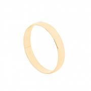 Aliança de Casamento Ouro 18k Tradicional Lisa 3 mm