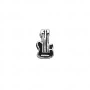 Berloque Prata 925 Guitarra 11 mm