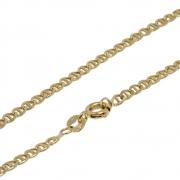 Corrente Ouro 18k Elo Cadeado 50 cm