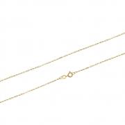 Corrente Ouro 18k Elo Cartier 0,8 mm 60 cm