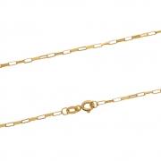 Corrente Ouro 18k Elo Cartier 60 cm com 1,1 mm de Espessura