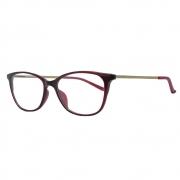Óculos de Grau Bulget Feminino Titanium BG7026
