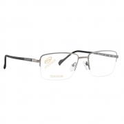Óculos de Grau Stepper com Fio de Nylon Masculino SI-60177