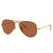 Óculos de Sol Ray-Ban Aviador II Arista Polarizado Unissex RB3689 - Tamanho Grande
