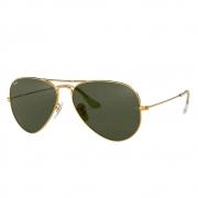 Óculos de Sol Ray-Ban Aviador Metal Unissex - Médio