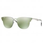Óculos de Sol Ray-Ban Clubmaster Blaze Silver Unissex RB3576N