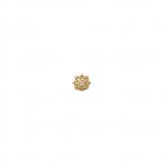 Pingente Ouro 18k Chuveirinho com Zircônias 11 mm