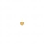 Pingente Ouro 18k Coração Pequeno 9 mm
