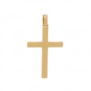 Pingente Ouro 18k Cruz 24 mm