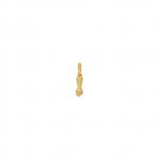 Pingente Ouro 18k Figa Pequena 10 mm