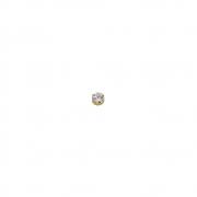 Pingente Ouro 18k Ponto de Luz 4 mm