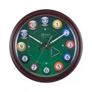 Relógio de Parede Herweg Bolas de Bilhar 6469