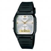 Relógio de Pulso Casio Vintage Borracha Unissex AW-48HE