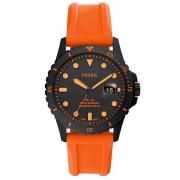 Relógio de Pulso Fossil com Pulseira de Silicone Masculino FS5686/2LN