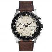 Relógio de Pulso Fossil Dillinger Masculino com Pulseira de Couro FS5674