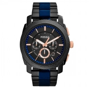 Relógio de Pulso Fossil Machine Masculino FS5164