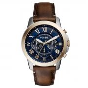 Relógio de Pulso Grant Masculino com Pulseira de Couro FS5150
