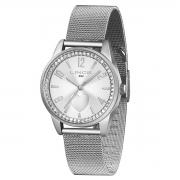 Relógio de Pulso Lince Feminino com Pulseira Esteirinha LRMJ106L