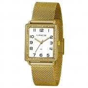 Relógio de Pulso Lince Feminino Retangular LQG4665L