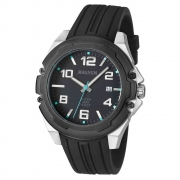Relógio de Pulso Magnum com Pulseira de Silicone Masculino MA34487
