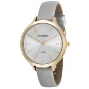 Relógio de Pulso Mondaine Feminino com Pulseira de Couro 53589LPMG