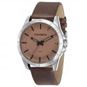 Relógio de Pulso Mondaine Masculino com Pulseira de Couro 76701G0MVNH