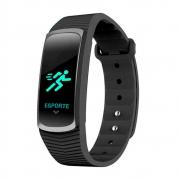 Relógio de Pulso Mormaii SmartWatch com Monitoramento Cardíaco MOB3AA