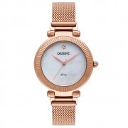 Relógio de Pulso Orient Feminino com Pulseira Esteirinha FRSS0023