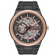 Relógio de Pulso Orient Masculino com Máquina Exposta Automático NH7YR001