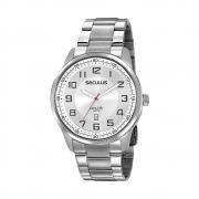 Relógio de Pulso Seculus Masculino Long Life 20785G