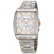 Relógio de Pulso Seculus Masculino Long Life Misto 23669GPSVBA2
