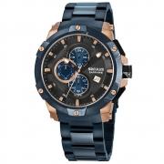 Relógio de Pulso Seculus Sapphire Masculino 13026GPSV